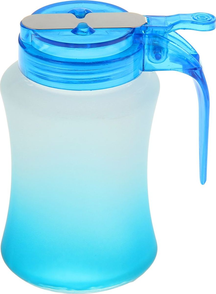 Сахарница Доляна Омбре, цвет: голубой, 250 мл868921Сахарница Доляна с крышкой изготовлена из стекла. Емкость универсальна, подойдет как для сахара, так и для специй или меда.