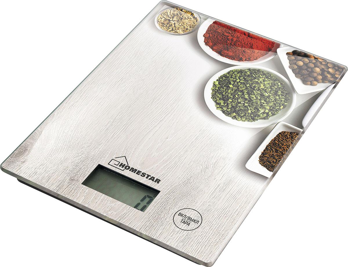 HomeStar HS-3008 Spice кухонные весы54 003041Кухонные электронные весы HomeStar HS-3008 - незаменимый помощник современной хозяйки. Они помогут точно взвесить любые продукты и ингредиенты. Кроме того, позволят людям, соблюдающим диету, контролировать количество съедаемой пищи и размеры порций. Предназначены для взвешивания продуктов с точностью измерения 1 грамм.