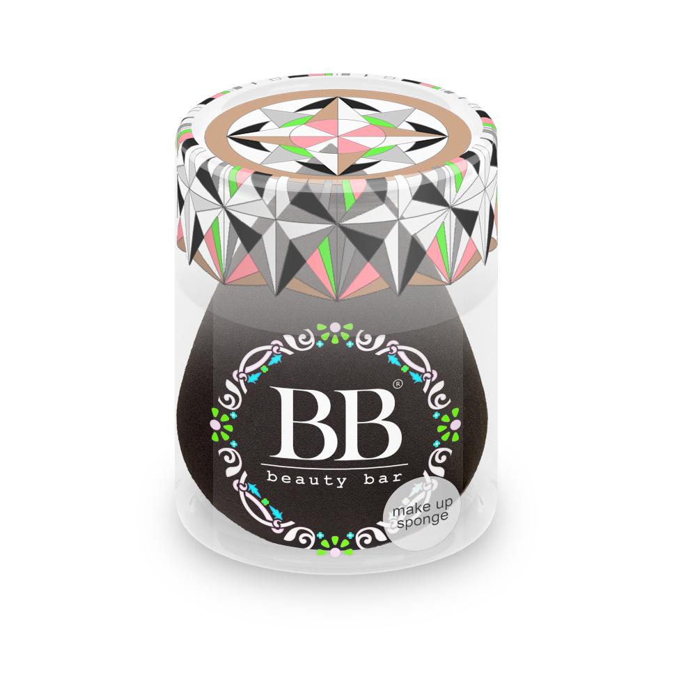 Спонж для макияжа Beauty Bar, цвет: черный спонж для макияжа цвета черный