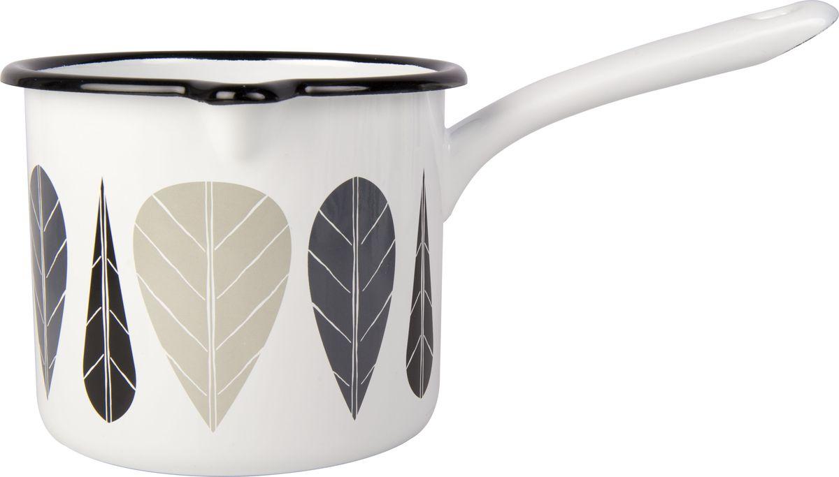 Сотейник Muurla  Leaves. Черный лист , 1,3 л - Посуда для приготовления