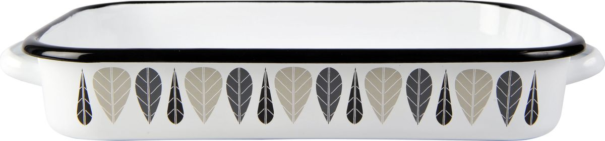 Форма для запекания Muurla  Leaves. Черный лист  - Посуда для приготовления