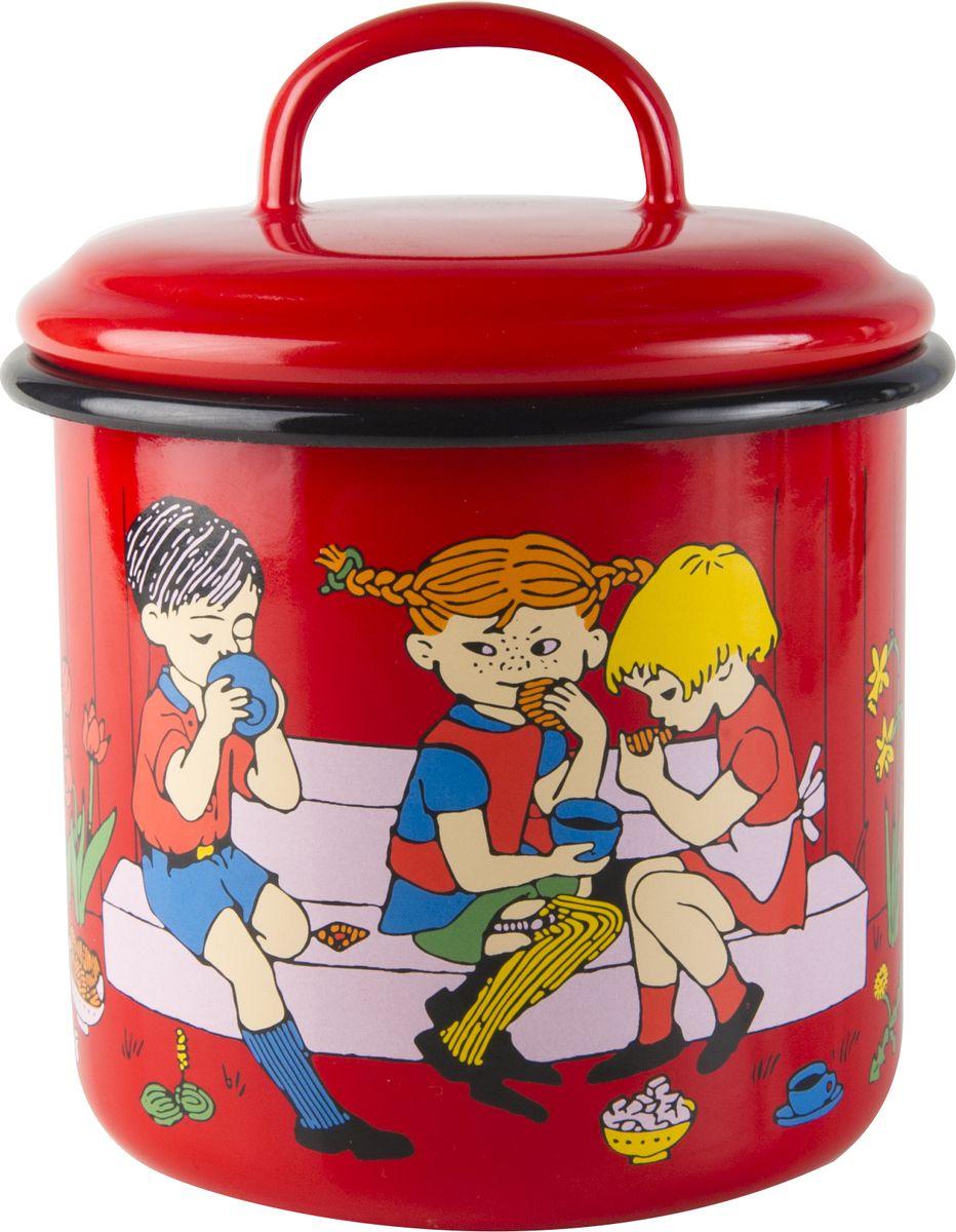 Банка для хранения Muurla Pippi Cup of Coffee, цвет: красный, 1,3л1400-130-11Muurla смогла восстановить почти утерянную технологию производства высокотехнологичной эмали, удовлетворяющей самым строгим стандартам. Эмалированные изделия Muurla являются ярким примером того, как традиционное ремесло получает новый виток развития благодаря высоким технологиям.