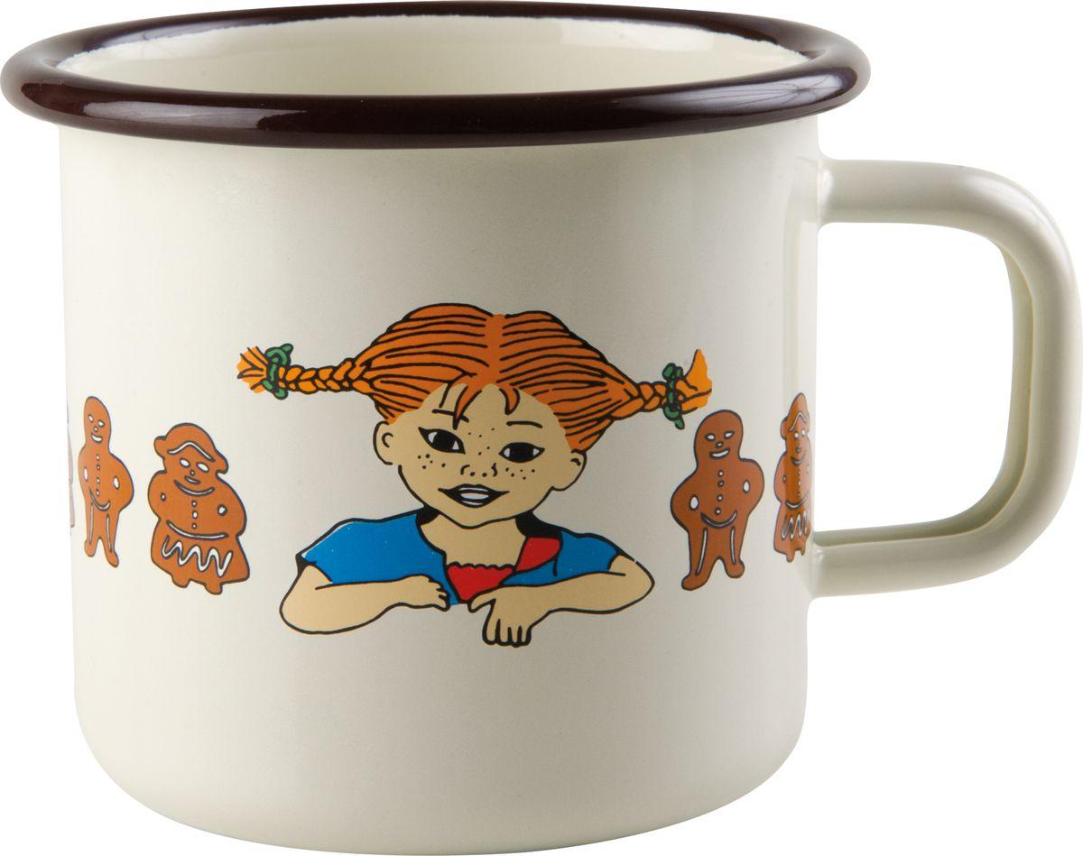 Кружка Muurla Pippi. Gingerbread, эмалированная, 370 мл the gingerbread man