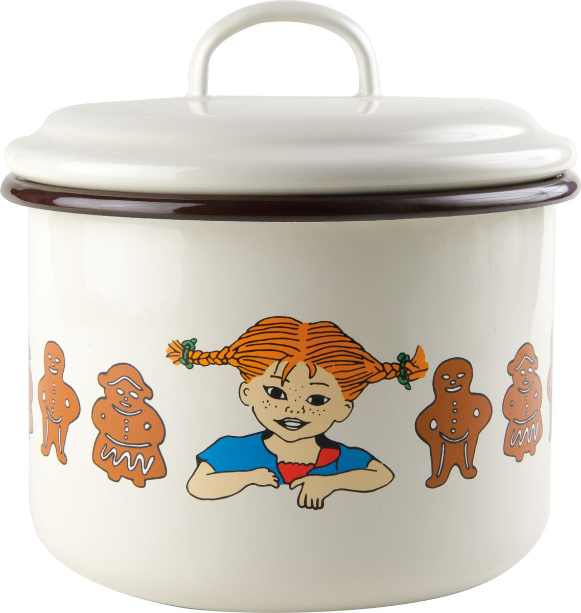 Банка для хранения Muurla Pippi Gingerbread, 2,3л the gingerbread man