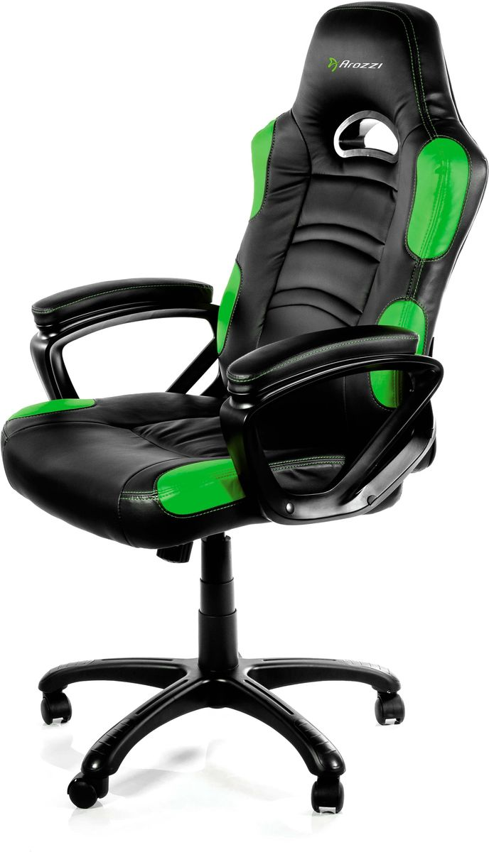 Arozzi Enzo, Green игровое кресло dxracer special edition oh re128 nwgo cod компьютерное игровое кресло orange