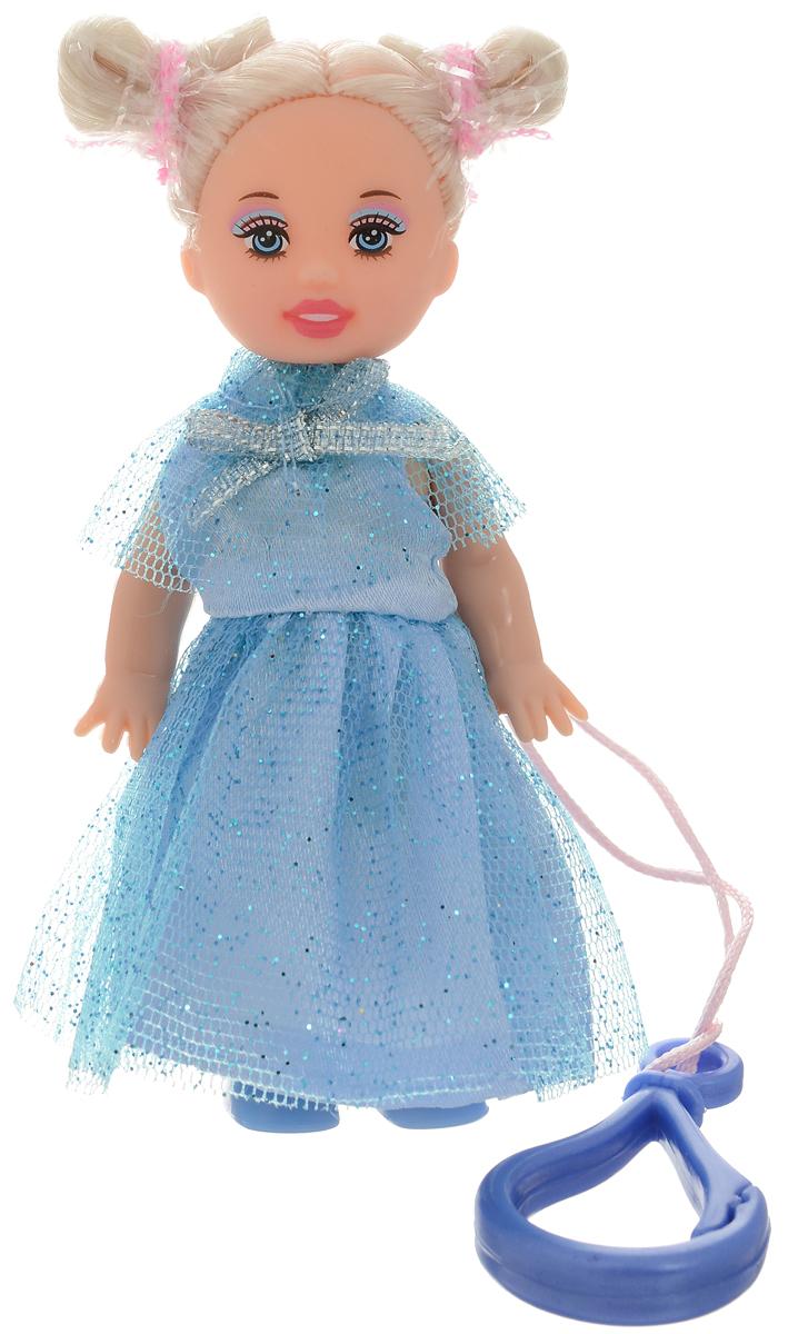 Defa Toys Мини-кукла Beily цвет платья голубой