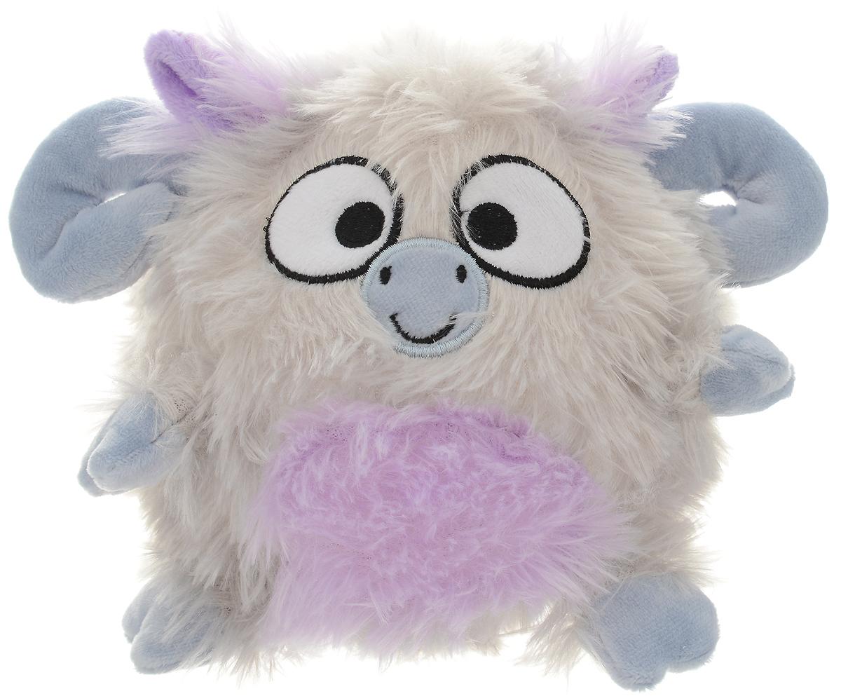 Gulliver Мягкая игрушка Барашек-светлячок цвет серый 15 см малышарики мягкая игрушка барашек 25 см