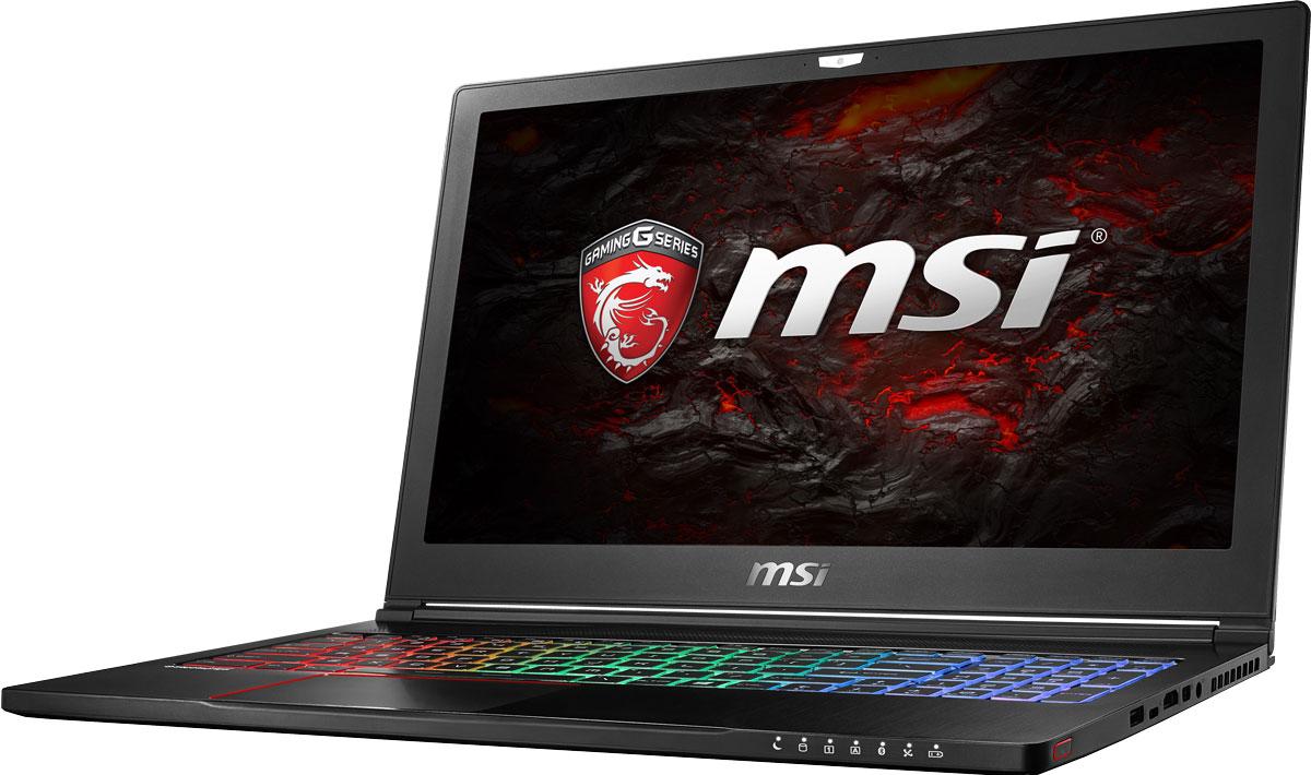 MSI GS63 7RE-045RU Stealth Pro, Black ноутбук msi gs43vr 7re 094ru phantom pro 9s7 14a332 094