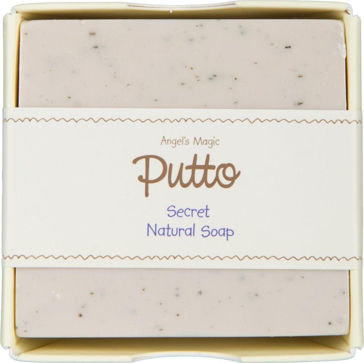 Putto Secret Мыло детское с натуральными экстрактами 100 г77D088101Питательное детское мыло Putto Secret с нежным приятным ароматом на основе 100% натурального кокосового масла. Бережно очищает кожу ребенка.Тройной магический эффект церамида обеспечивается за счет содержания уникального компонента NHEB-05 (запатентованная формула для чувствительной кожи), церамида и природного увлажняющего компонента бета-глюкан, которые создают мощную надежную защиту кожи, увлажняют , смягчают кожу , препятствуют сухости кожных покровов , предотвращают зуд. Содержит компонент, способствующий заживлению кожных рубцов.Натуральное мыло для детей обладает прекрасным ранозаживляющим свойством.Моментальное устранение дискомфорта за счет увлажнения и натуральных успокаивающих компонентов.Мыло для детей содержит натуральные масла - масло чайного дерева, масло виноградных косточек, масло жожоба, масло ромашки, а также сквалеи и экстракт Алоэ Вера, которые известны своими целебными свойствами.Экстракты таких лекарственных трав как экстракт хауттюйнии сердцевидной, экстракт азиатского подорожника, экстракт будры плющевидной, экстракт вяза, экстракт шелковицы оказывают успокаивающее действие для сухой, чувствительной кожи, устраняют зуд, а также увлажняют и питают детскую чувствительную кожу.Компоненты входящие в состав натурального мыла:Церамиды - важнейший липидный компонент клеточной мембраны. Являются мощным защитным барьером для кожи, восстанавливают липиды кожи. В наибольшей степени церамиды предотвращают потерю влаги предотвращают сухость и шелушение.Бета-глюкан - природный компонент, который обеспечивает обильное увлажнение.Масло чайного дерева обладает сильным бактерицидным и противовоспалительным действием.Масло виноградных косточек содержит очень много полиненасыщенной линолевой кислоты класса Омега-6 (от 50% до 80%) и мононенасыщенной олеиновой кислоты класса Омега-9. Также содержат много флавоноидов, в том числе проантоцианиды, которые увеличивают содержание витамина С внутри клет