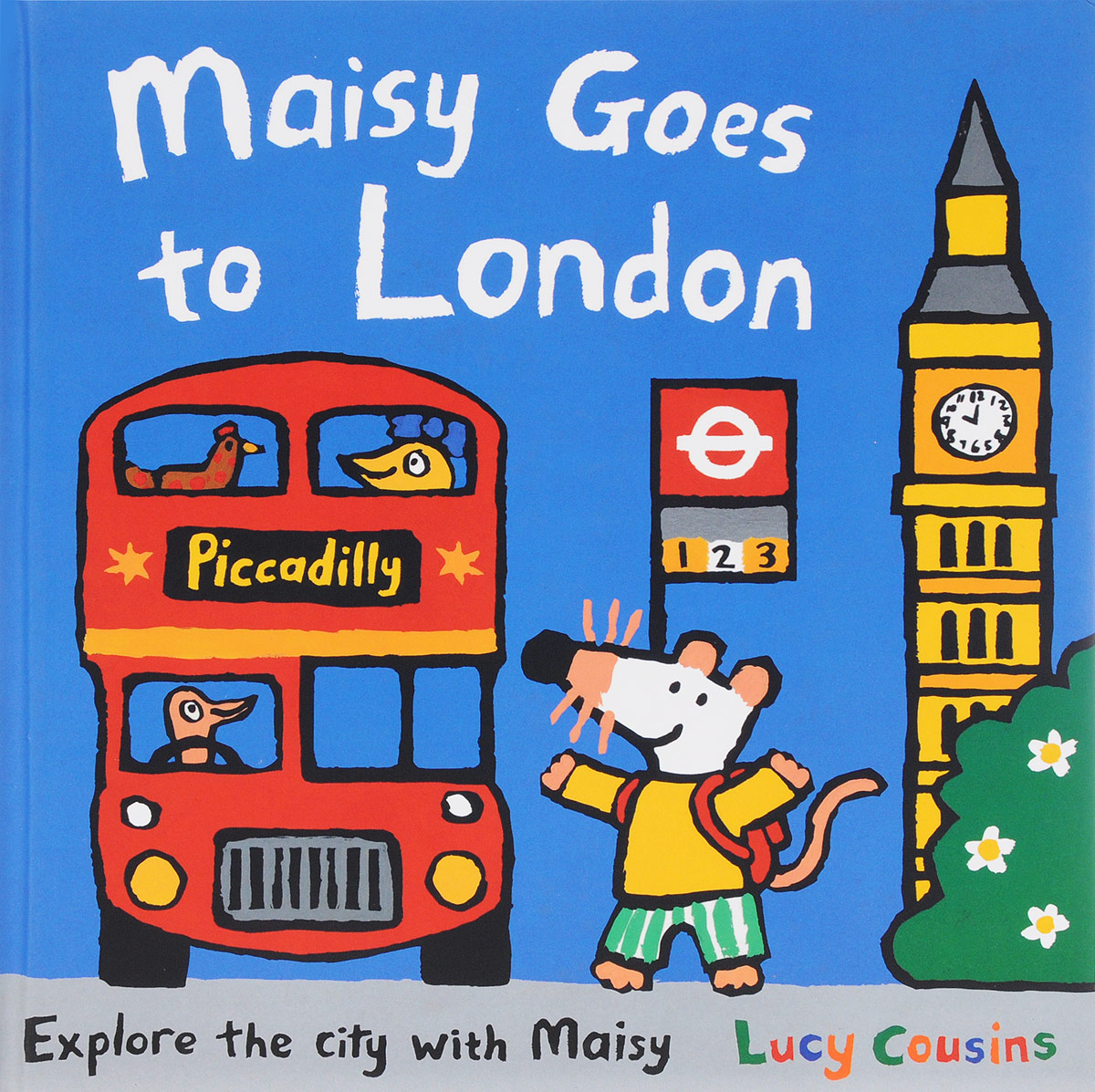 Maisy Goes to London maisy s farm sticker book