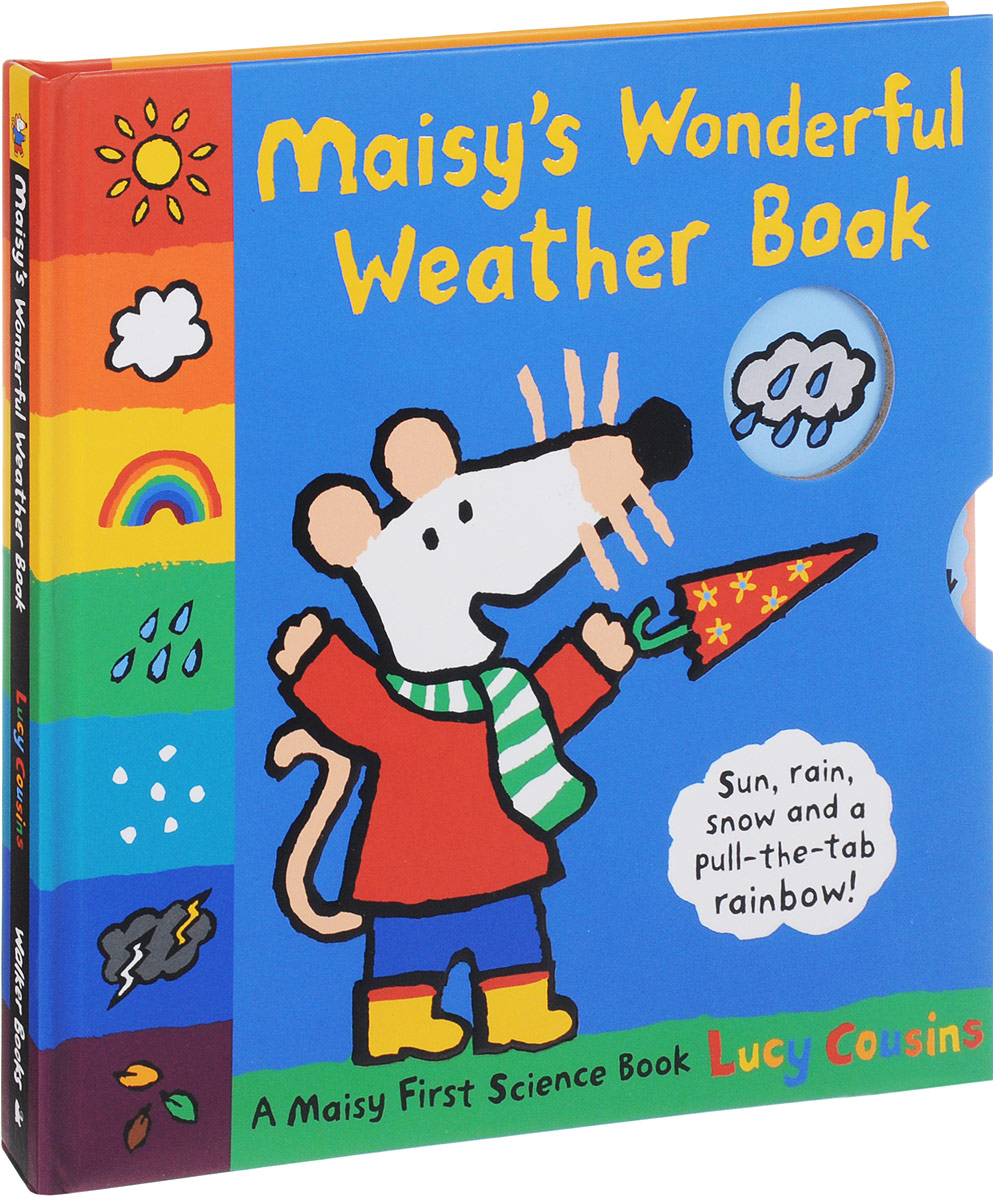 Maisy's Wonderful Weather Book maisy s farm sticker book