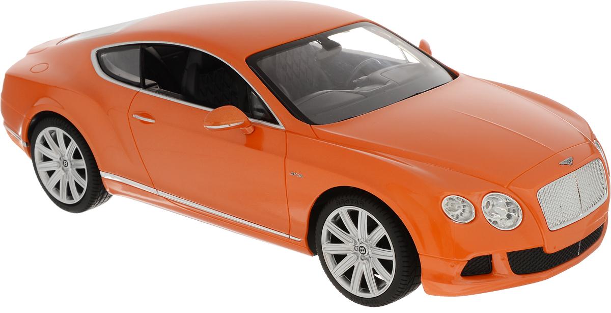Rastar Радиоуправляемая модель Bentley Continental GT Speed цвет оранжевый масштаб 1:14 rastar bentleycontinentalgt3 70600