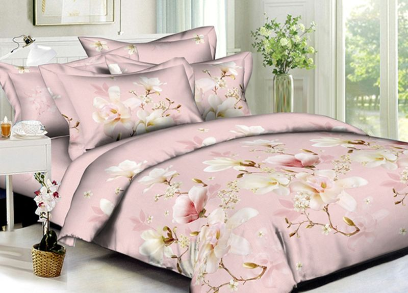 Комплект белья Primavera Classic. Розалин, 1,5-спальный, наволочки 70x70, цвет: розовый95686Комплект постельного белья Primavera является экологически безопасным для всей семьи, так как выполнен из высококачественного сатина (100% хлопка). Комплект состоит из пододеяльника на молнии, простыни и двух наволочек. Постельное белье оформлено ярким узором и имеет изысканный внешний вид. Сатин - производится из высших сортов хлопка, а своим блеском и легкостью напоминает шелк. Постельное белье из сатина превращает жаркие летние ночи в прохладные и освежающие, а холодные зимние - в теплые и согревающие. Приобретая комплект постельного белья Primavera, вы можете быть уверенны в том, что покупка доставит вам и вашим близким удовольствие и подарит максимальный комфорт.