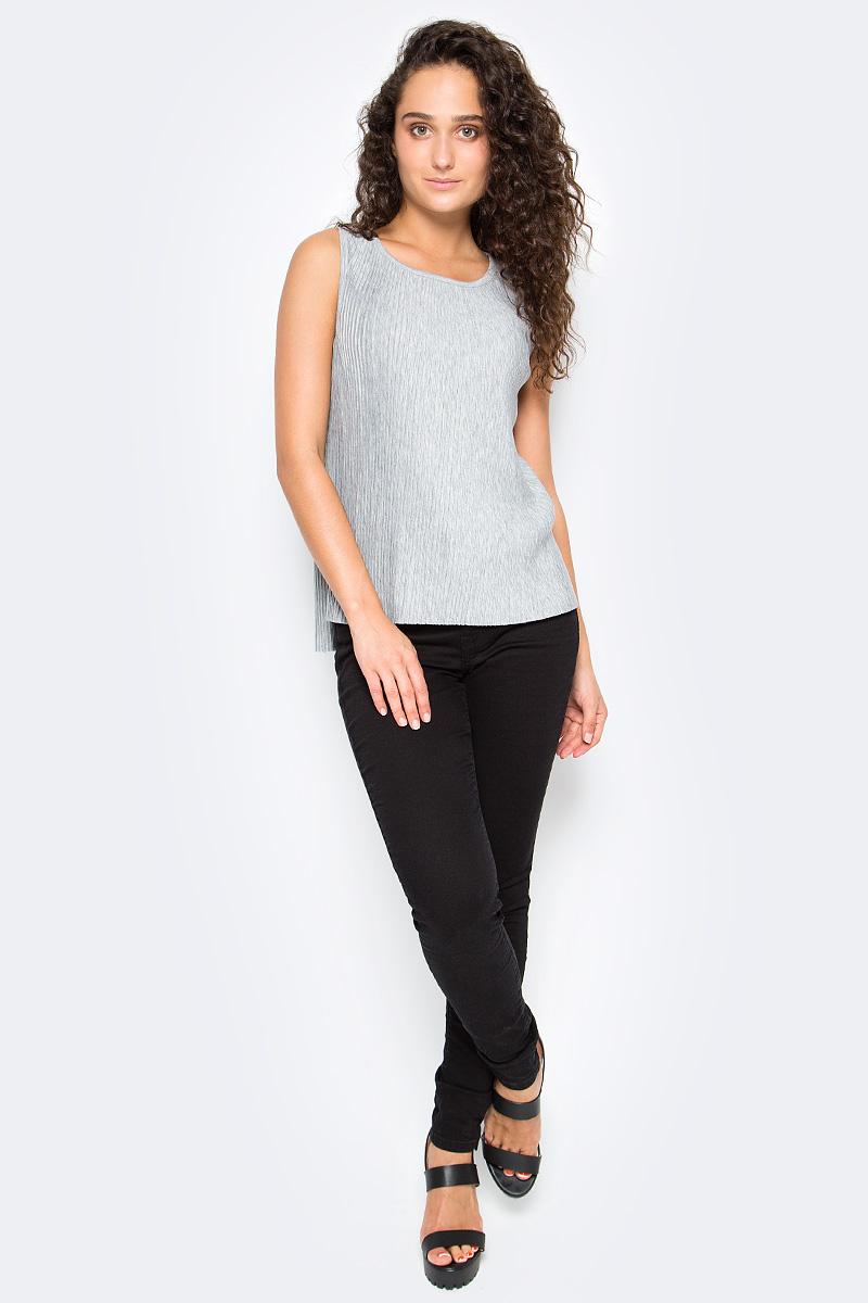 Топ женский Tom Tailor, цвет: серый. 1055008.00.71_2973. Размер M (46) топ laete из вискозы 51229 m 46 серый