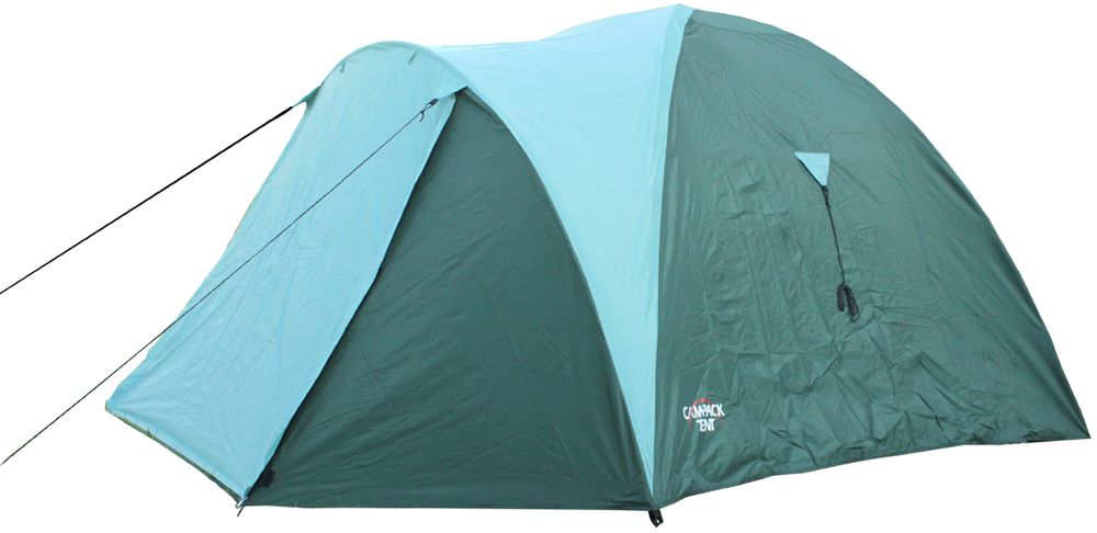 Палатка Campack Tent Mount Traveler 3, 3-х местная, цвет: зеленый, серый, черный naturehike 2 person 3 season tent double layer windproof waterproof tent camping hiking travel dome tents