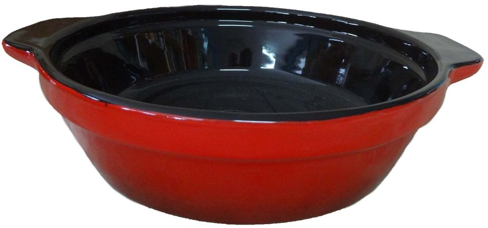 Сковорода Борисовская керамика Красный, 900 млКРС00000Сковорода без крышки КРС00000. Материал: Керамика. Объем: