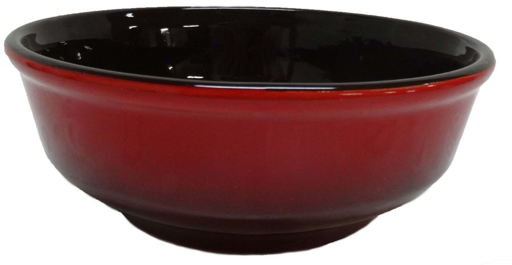 Набор горшочков для запекания Борисовская керамика  Красный , 500 мл, 2 шт - Посуда для приготовления