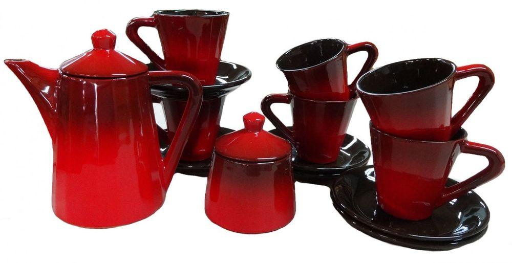 Сервиз чайный Борисовская керамика Ностальгия, 8 предметовКРС14457144Сервиз чайный Ностальгия КРС14457144. Материал: Керамика. Объем:
