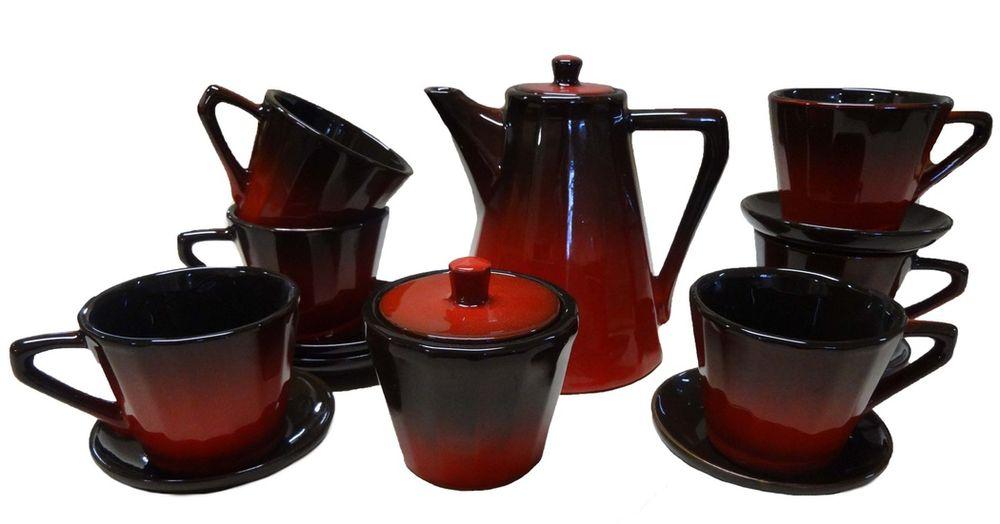 Сервиз кофейный Борисовская керамика Ностальгия, 8 предметовКРС14457986Сервиз кофейный Ностальгия КРС14457986. Материал: Керамика. Объем: 0,2