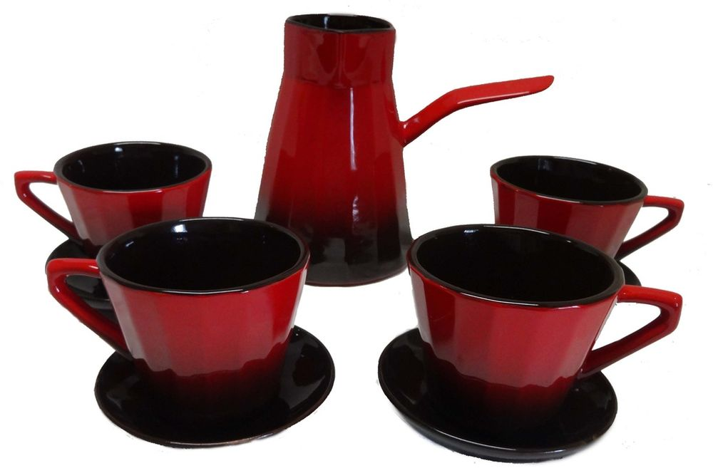 Сервиз кофейный Борисовская керамика Ностальгия, 5 предметовКРС14457988Сервиз кофейный Ностальгия малый КРС14457988. Материал: Керамика. Объем:
