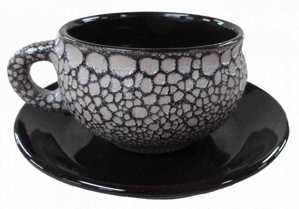 Чайная пара Борисовская керамика, 250 млМРМ00000812Чашка (Штр., Орн.) с блюдцем МРМ00000812. Материал: Керамика. Объем: 0,25