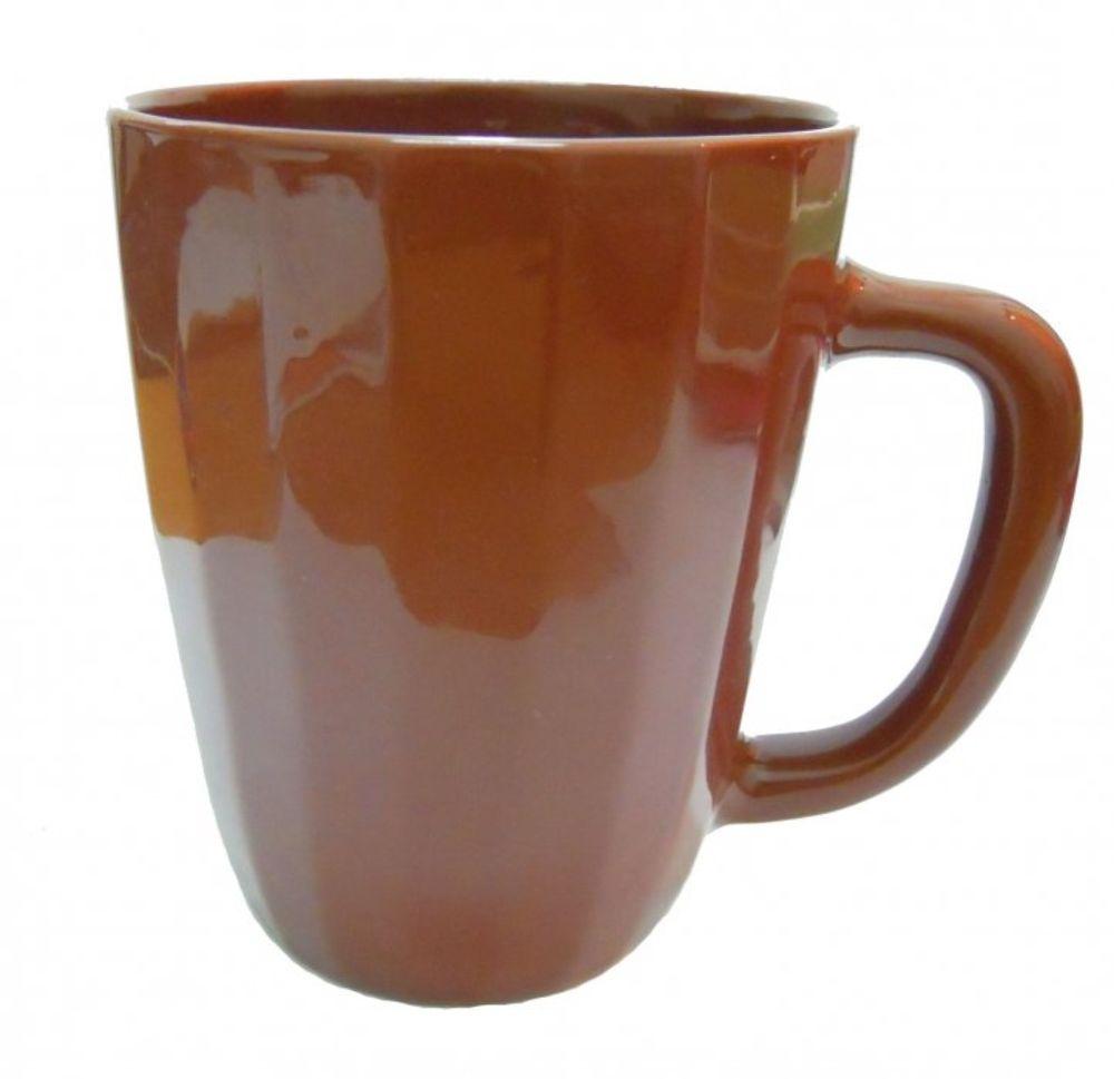 Бокал Борисовская керамика Ностальгия, цвет: коричневый, 600 мл бокал monte carlo  объем 600 мл  высота