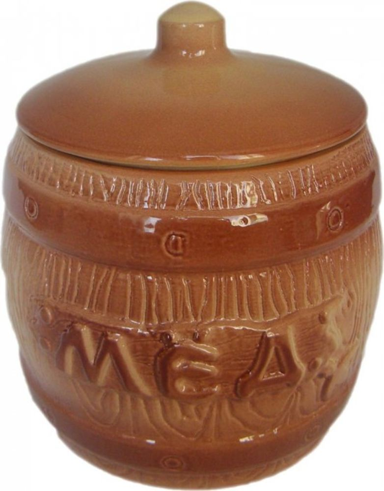 Банка для хранения Борисовская керамика Мед, 1,2 лОБЧ00000306Бочонок Мед ОБЧ00000306. Материал: Керамика. Объем: 1,2