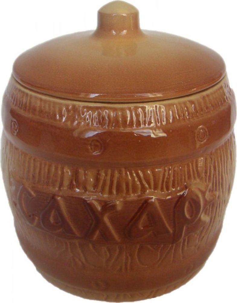 Банка для хранения Борисовская керамика Сахар, 1,2 лОБЧ00000314Бочонок Сахар ОБЧ00000314. Материал: Керамика. Объем: 1,2