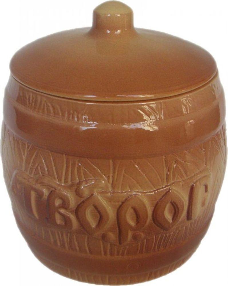 Банка для хранения Борисовская керамика Творог, 1,2 лОБЧ00000320Бочонок Творог ОБЧ00000320. Материал: Керамика. Объем: 1,2