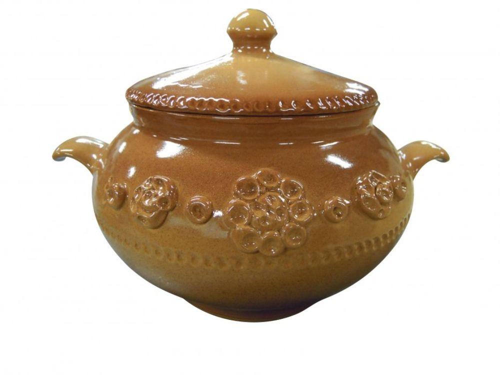 Горшочек для запекания Борисовская керамика Стандарт, 2,8 л