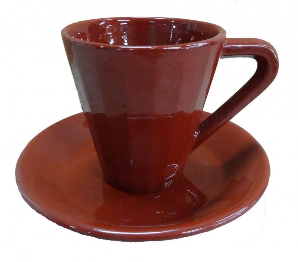 Чайная пара Борисовская керамика Ностальгия, 250 млОБЧ00000918Чашка Ностальгия №1 с блюдцем ОБЧ00000918. Материал: Керамика. Объем: 0,25