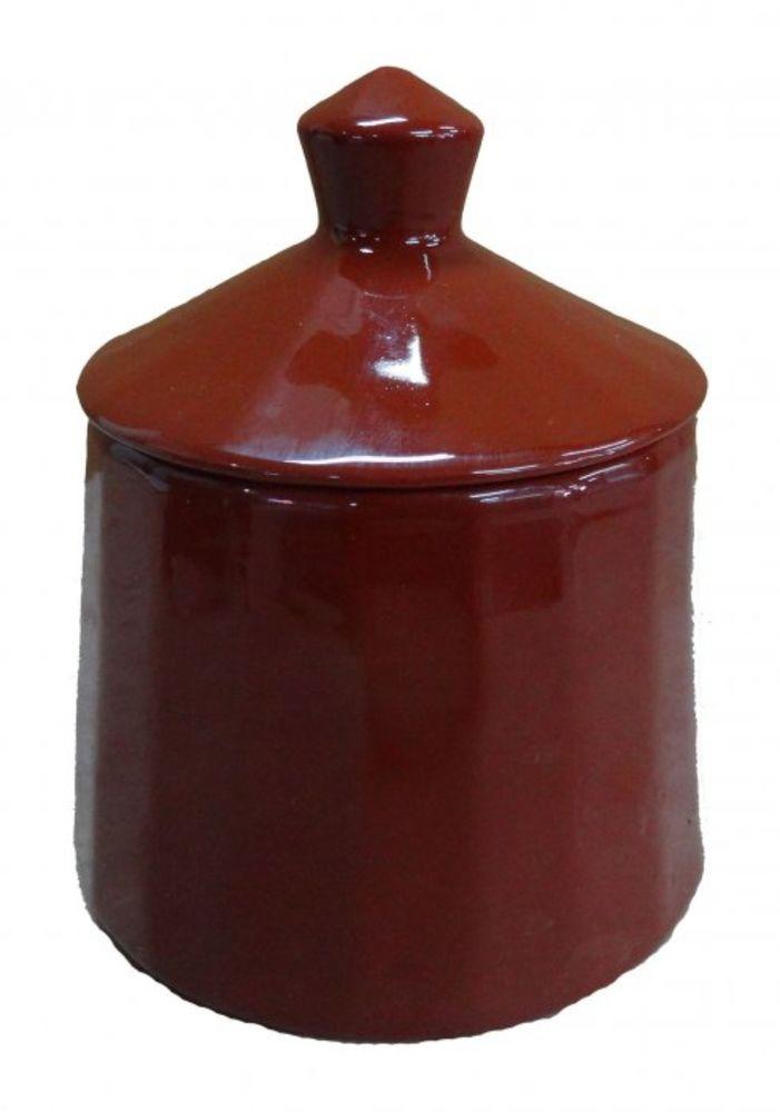 Сахарница Борисовская керамика Ностальгия, 300 млОБЧ00000919Сахарница Борисовская керамика с крышкой изготовлена из керамики с глазированной поверхностью. Емкость универсальна, подойдет как для сахара, так и для специй или меда.
