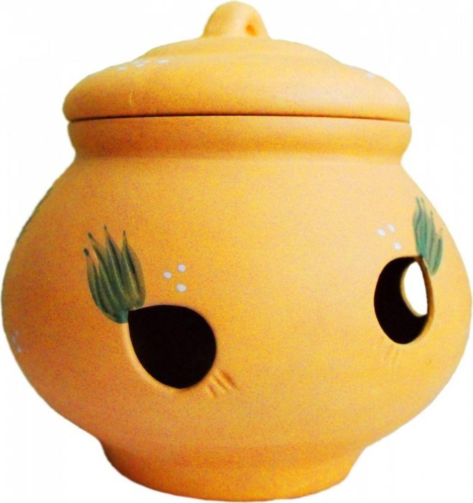 Емкость для лука Борисовская керамика Стандарт, 3,5 лОБЧ14456332Банка для лука круглая ОБЧ14456332. Материал: Керамика. Объем: 1