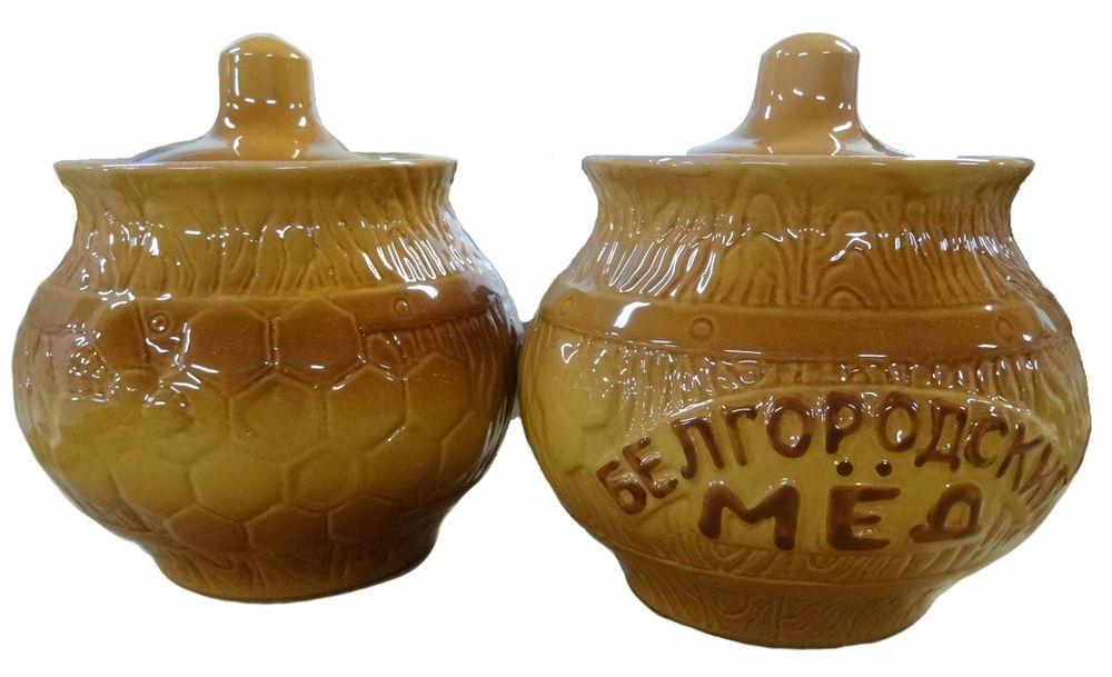 """Горшочек для для меда Борисовская керамика """"Белгородский"""", изготовлен из высококачественной керамики без содержания химических примесей и снабжен крышкой.  Керамический горшок замечателен для хранения меда. Долгое сохранение температуры позволяют меду сохранять витамины и другие ценные питательные вещества.  Объем: 600 мл."""