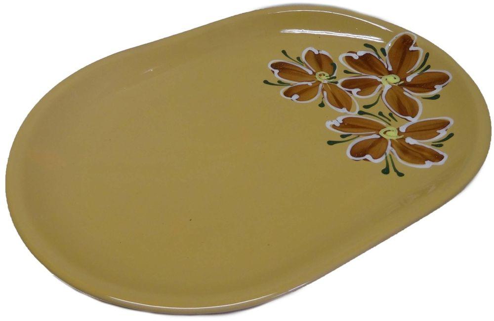 Блюдо Борисовская керамика СтандартОБЧ14457900Блюдо овальное ОБЧ14457900. Материал: Керамика. Объем: 2,5