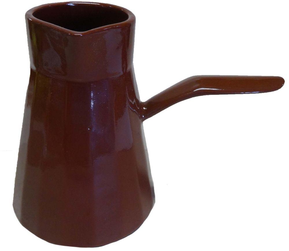 Турка Борисовская керамика Ностальгия, 600 мл. ОБЧ14457928ОБЧ14457928Турка Ностальгия ОБЧ14457928. Материал: Керамика. Объем: