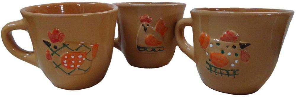 Чашка чайная Борисовская керамика Кукареку, 300 млОБЧ14458293Чашка Кукареку ОБЧ14458293. Материал: Керамика. Объем: