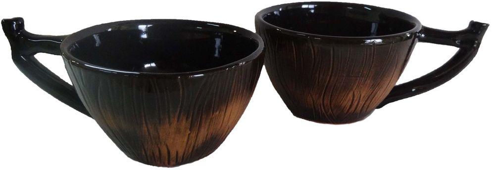 Чашка чайная Борисовская керамика Стандарт, 250 млОБЧ14458327Чашка гончарная малая ОБЧ14458327. Материал: Керамика. Объем: