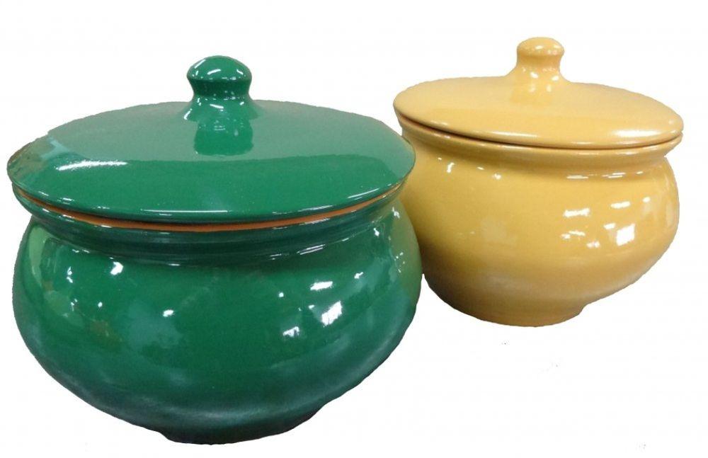 Горшочек для запекания Борисовская керамика  Радуга , 1,3 л - Посуда для приготовления