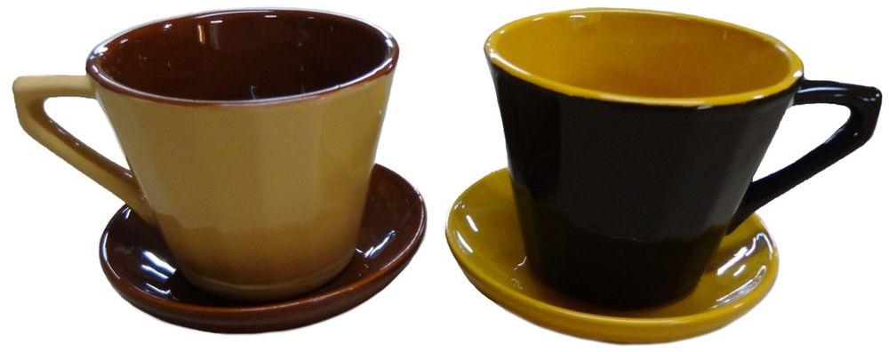 Чайная пара Борисовская керамика Ностальгия, 200 млРАД14458002Чашка Ностальгия №2 с блюдцем РАД14458002. Материал: Керамика. Объем: 0,2