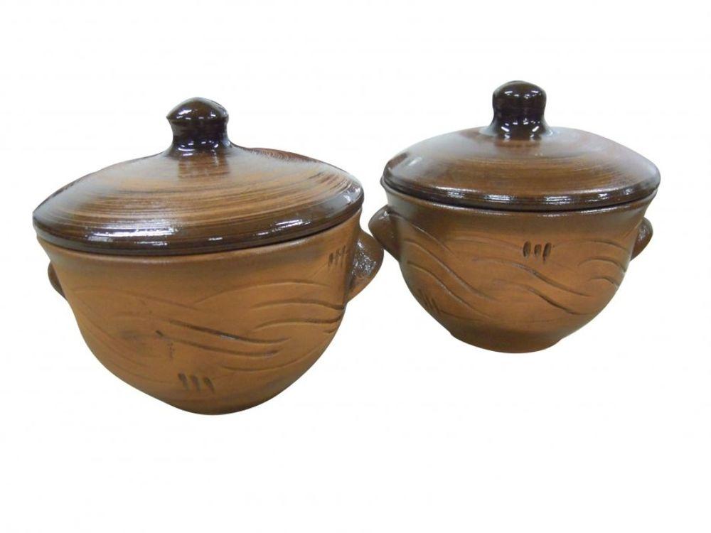 Горшочек для запекания Борисовская керамика Лакомка, 400 млСТР00000365Горшок для жаркого Лакомка №2 СТР00000365. Материал: Керамика. Объем: