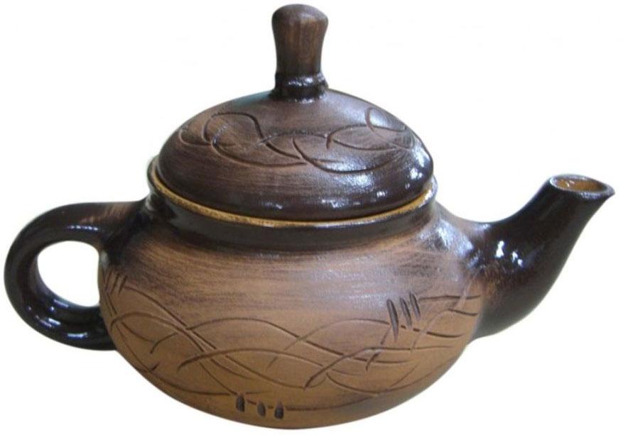 Чайник заварочный Борисовская керамика Кроха, 400 мл. СТР00000604СТР00000604Чайник Кроха младший СТР00000604. Материал: Керамика. Объем:
