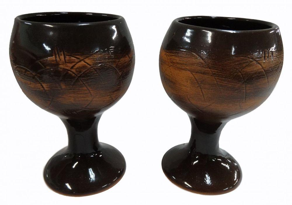 """Бокал Борисовская керамика """"Старина"""" выполнен из высококачественной керамики. Поверхность изделия искусственно состарена и дополнена рельефным рисунком."""