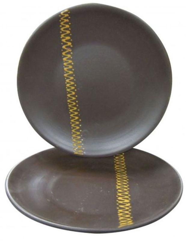 Тарелка Борисовская керамика ЧугунЧУГ00000587Тарелка Чугун, выполненная из керамики, имеет оригинальный дизайн.Изделие прекрасно подойдет для сервировки и подачидесертов и закусок.Такая тарелка прекрасно оформит праздничный стол ипорадует вас и ваших гостей изысканным дизайном и формой.