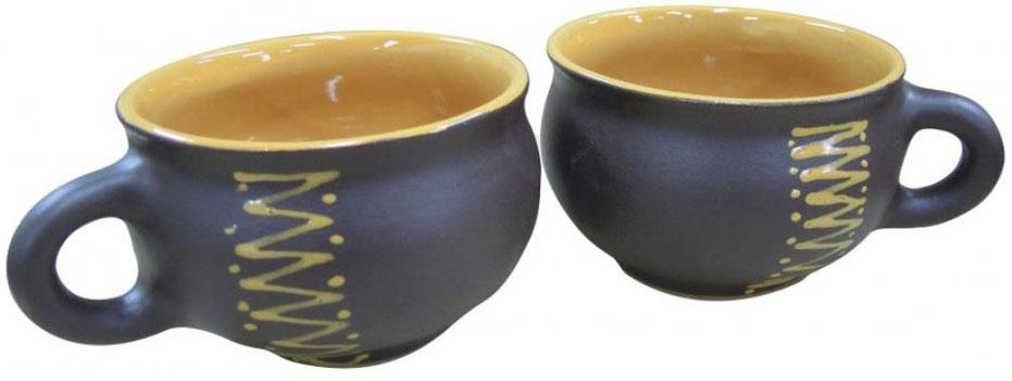 Чашка чайная Борисовская керамика Чугун, 250 мл чашка чайная борисовская керамика пион цвет оранжевый 300 мл
