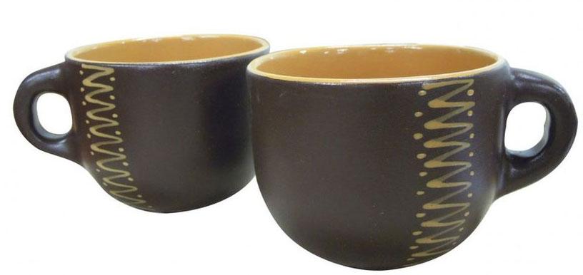 Чашка чайная Борисовская керамика Чугун, 500 млЧУГ00000653Чашка Чайная ЧУГ00000653. Материал: Керамика.