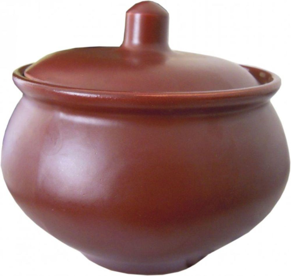 Горшочек для запекания Борисовская керамика Шелк, 1,3 л горшочек для запекания walmer duck c крышкой диаметр 9 см