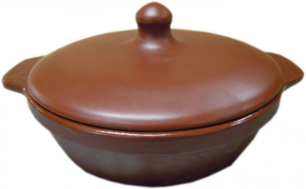 Сковорода Борисовская керамика  Шелк , с крышкой - Посуда для приготовления