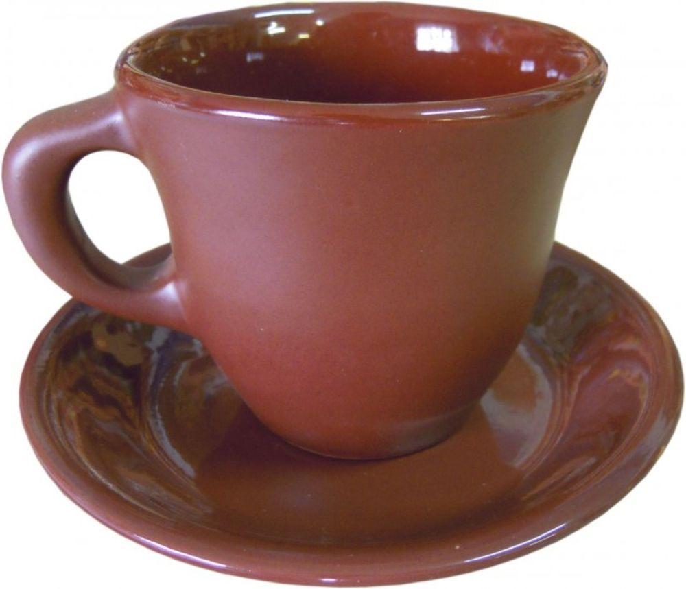 Чайная пара Борисовская керамика Шелк, 2 предмета