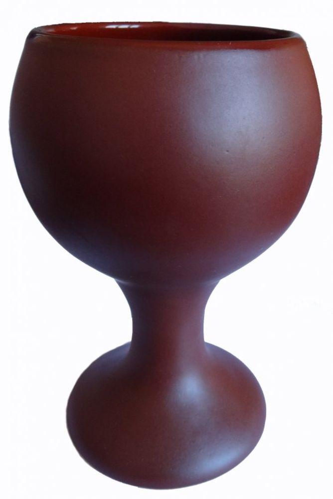 Бокал Борисовская керамика Шелк, цвет: коричневый, 200 млШЛК14456948Бокал Борисовская керамика изготовлен из высококачественное керамики и имеет глазурованное покрытие. Благодаря такомуматериалу напитки дольше сохраняют свою температуру. Изысканный дизайн придется по вкусу и ценителям классики и тем, кто предпочитает современный стиль.Можно использовать в духовке и микроволновой печи.